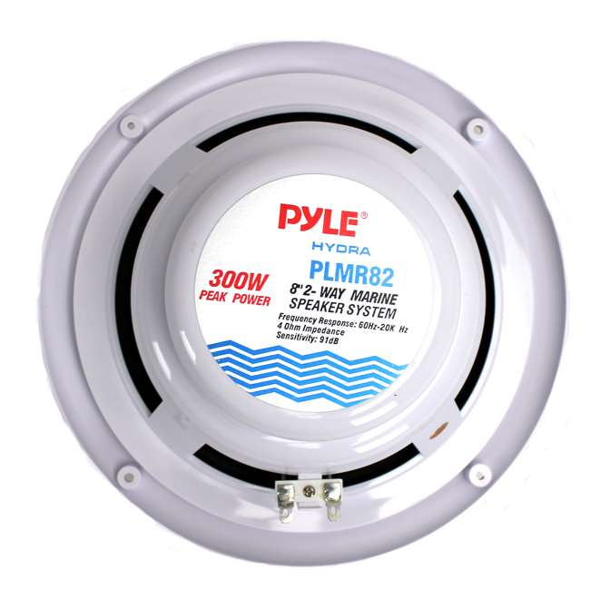 4 x PLMR82 Pyle PLMR82 8-Inch 300 Watt Waterproof Marine Speakers (8 Pack) 4