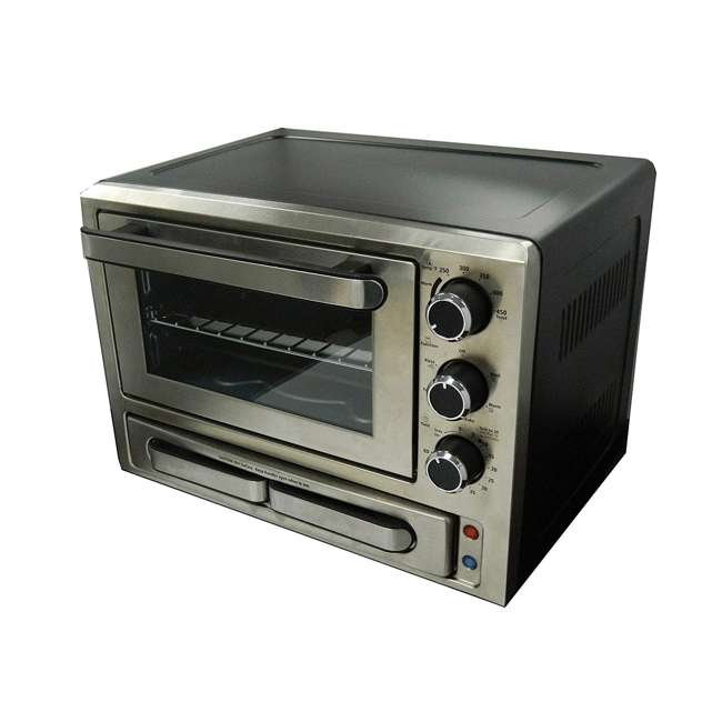 PPO84X3S-IS Avanti 1000-Watt Stainless Steel Pizza Toaster Oven
