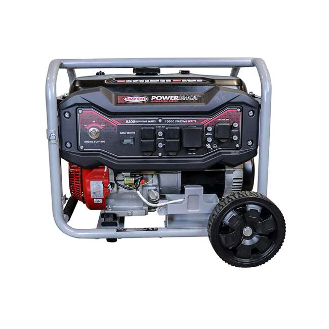SMPSN-GN-SPG8310E-70008 Simpson SPG8310E 8,300-Watt Portable Heavy-Duty Generator 1