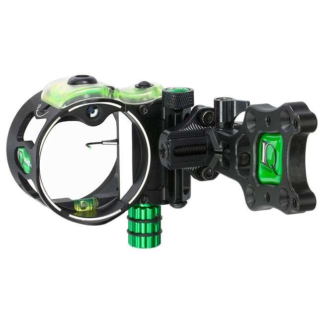 IQ00348 IQ Bowsight Pro One Archery Bow Sight w/ Single Pin Adjust - Left or Right Hand 1