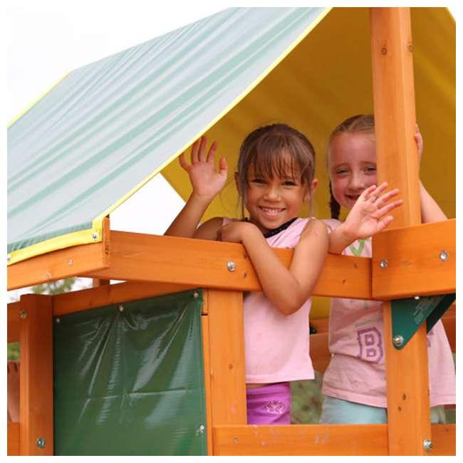 F23242 KidKraft F23235 Brookridge Childrens Wooden Outdoor Swing Set Playset Playground 2