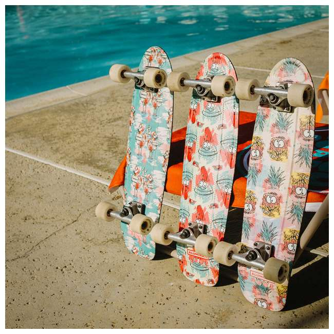 FH1907 Aluminati Pre-Gripped Lightweight Wild Desert Mullet Cruiser Skateboard & Wheels 2