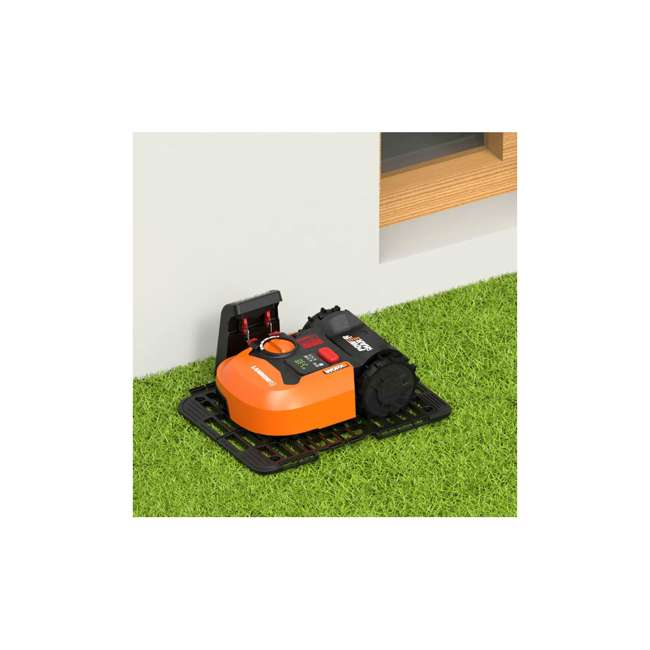 WR140 Worx WR140 Landroid M 20V 7 Inch Electric Cordless Robotic Lawn Mower, Orange 4