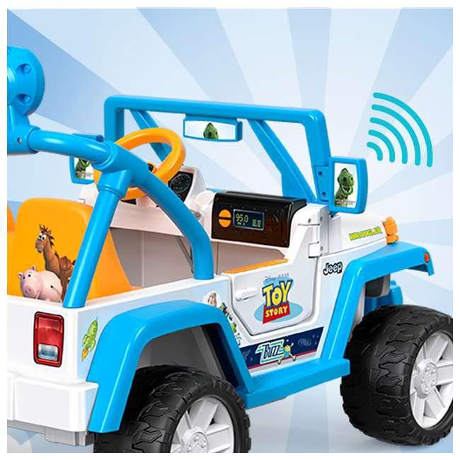 FYX48 Power Wheels Disney Pixar Toy Story Kids Electric 12V Car Ride On Jeep Wrangler 5