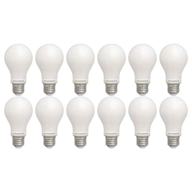12 x SYL-74688 Sylvania Energy Efficient 40 W Equivalent LED Light Bulb, Dimmable (12 Pack)