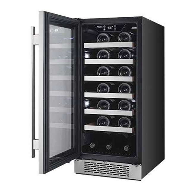 AWC151SZLH + AWC151SZRH Avallon 15 Inch Left & Right 27 Bottle Dual Zone Wine Cooler, Stainless Steel 3