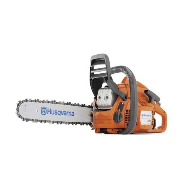 952991679-BRC-RB Husqvarna 435 Chainsaw 16-Inch 40.9cc (Refurbished)