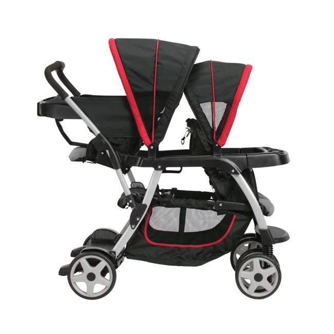 graco ready2grow click connect double stroller manual