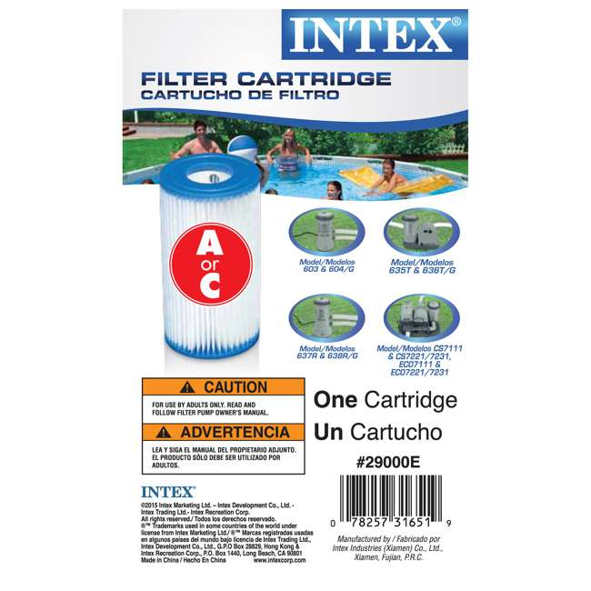 26325EH + 6 x 29000E Intex 26325EH Pool w/ Pump & Filter (6 pack) 8