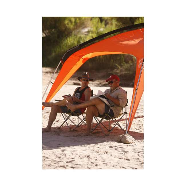 579VBK TravelChair 579V Teddy Folding Portable Camping Hunting Nylon Mesh Chair, Black 1