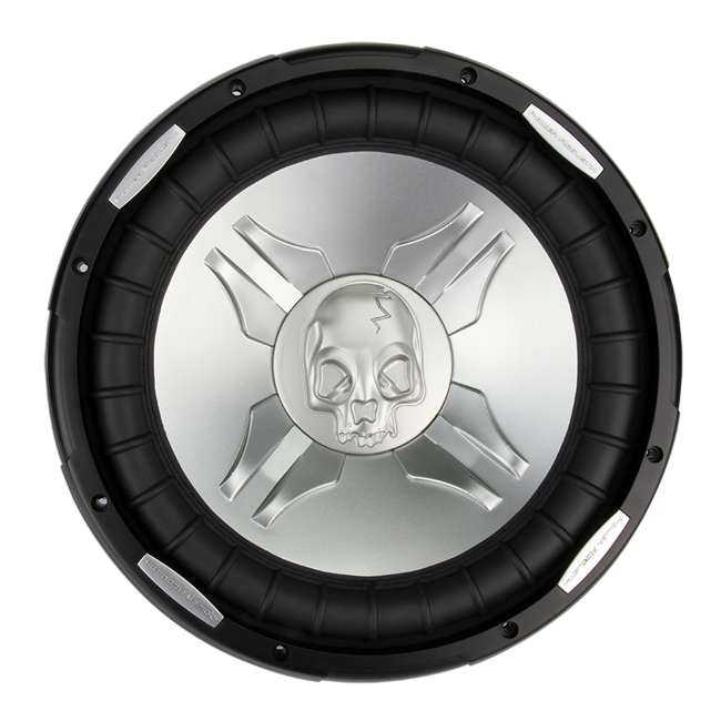 P315W + QSBASS15 Power Acoustik P3-15W 15-Inch 2800W Subwoofer with Vented Subwoofer Box 1