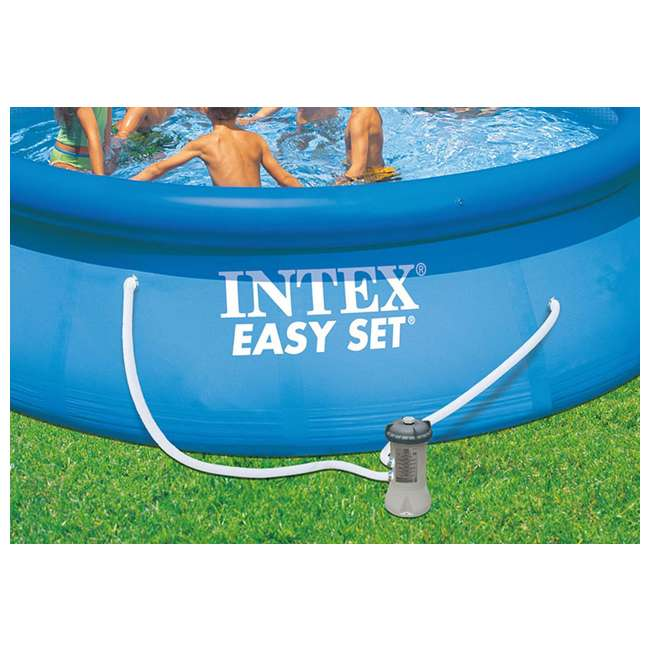 29059E-U-B Intex 1.25 Inch Diameter Accessory Pool Pump Replacement Hose 59 Inch Long(Used) 3