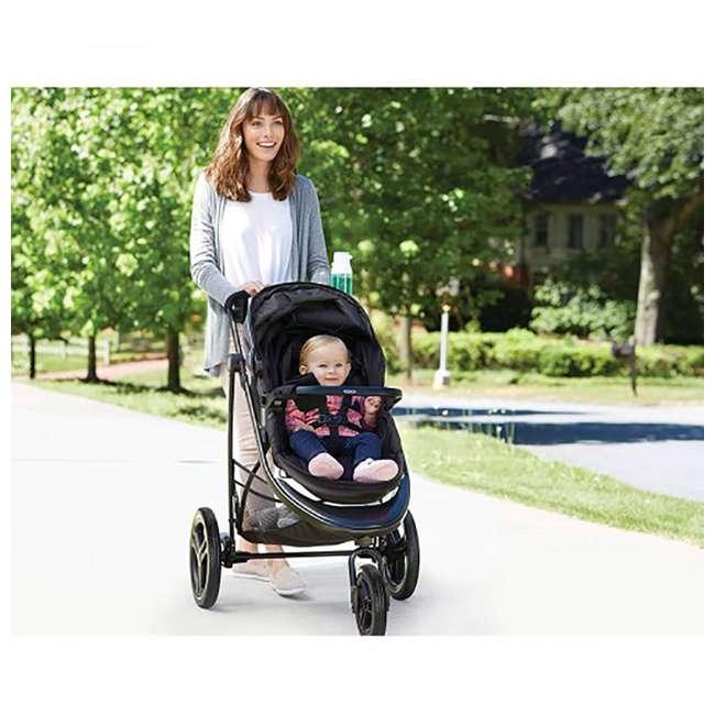 2048703 Graco Modes 3 Essentials LX Folding Baby Stroller, Teigen 1