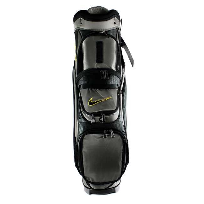BG0218-017  Nike M9 Golf Bag Adult Cart Style Bag – 14 Way Top Divider Grey & Yellow Color 6