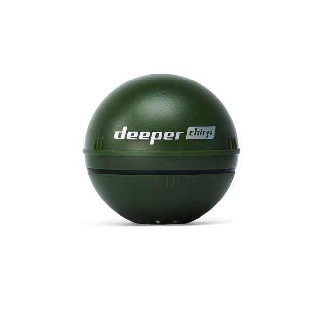 ITGAM0631 Deeper Chirp Smart Sonar Castable Portable Fish Finder and Depth Finder