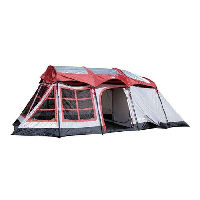 sc 1 st  VMInnovations & Tahoe Gear Glacier 12 Person Deluxe Family Cabin Tent : LDH020-12E