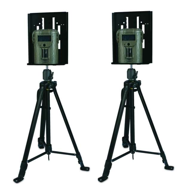 UCM-T Camera Tripod Mount! MOULTRIE Adjustable Tripod Stands for Game Cameras (Pair)