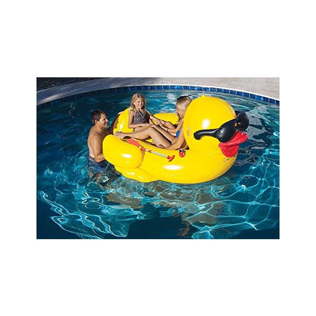 5000 GAME Giant Floating Riding Derby Duck Pool Float Lounge | 5000 (Used) 4