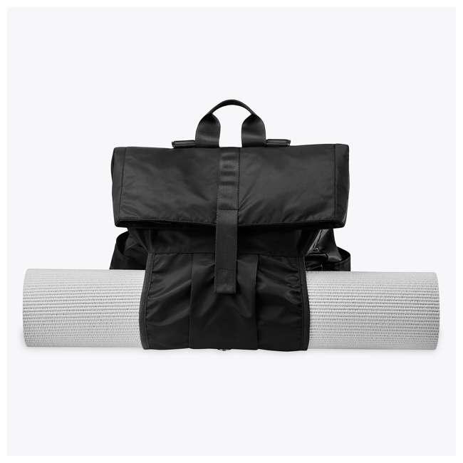 05-62695 Gaiam Yoga Mat Hold-Everything Backpack, Black 3