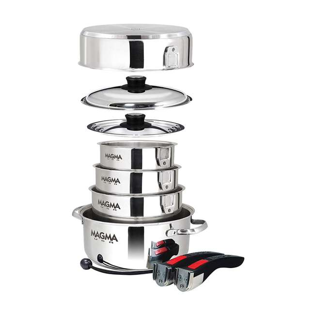 A10-360L-IND 10-pc Nesting Cookware Set 1
