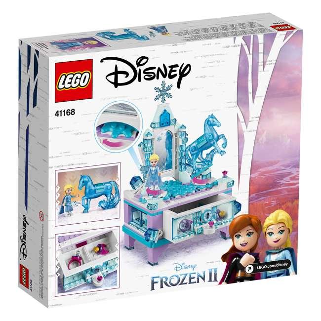 6251063 LEGO 41168 Frozen II Elsa's Jewelry Box Block Building Kit w/ 2 Minifigures 2