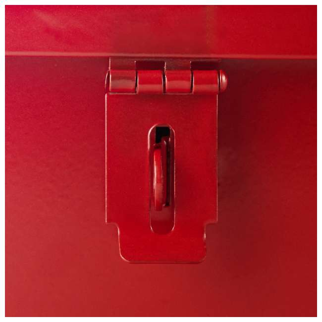 RE-102420 20-Inch Portable Mounting Tool Box for Vehicles, Red 2