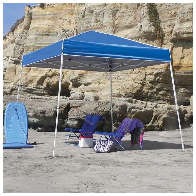 ZSB10INSTBL + ZS1SR10AL Z-Shade 10 x 10-Foot Horizon Shade Canopy with Screen Walls 2
