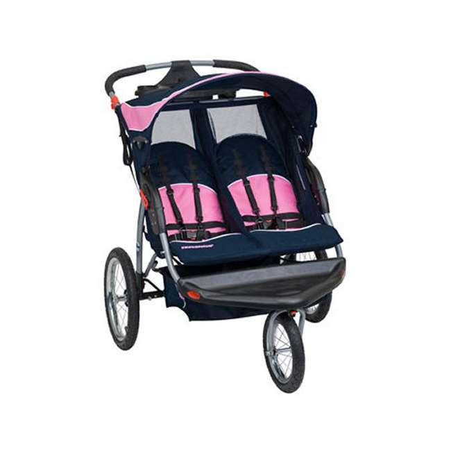 Baby Trend Expedition Swivel Double Jogging Stroller Hanna Dj96504