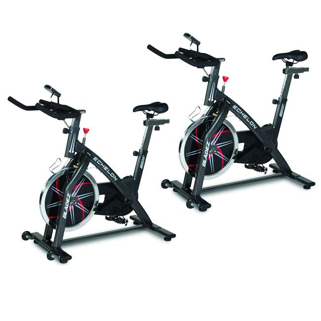 ECHELON Echelon GS Bladez Fitness Stationary Indoor Cardio Exercise Fitness Cycling Bike (2 Pack)