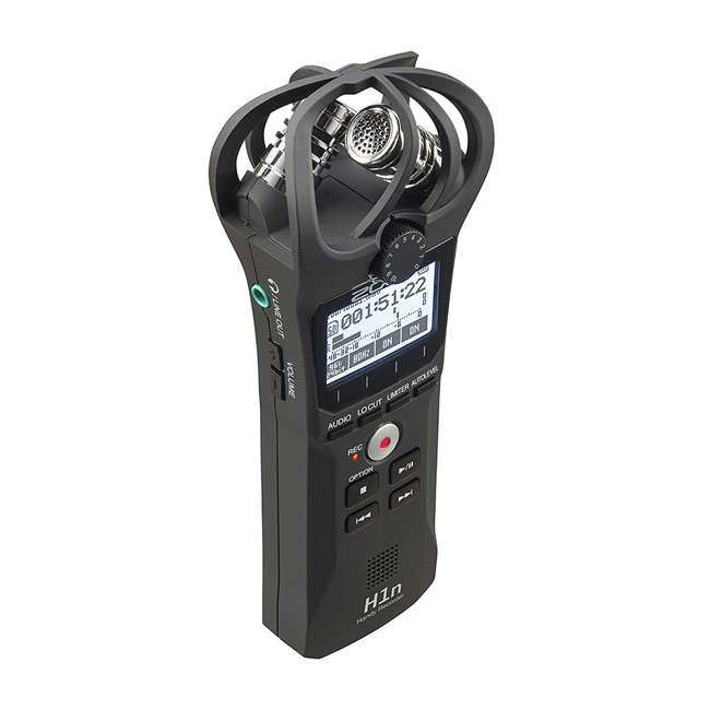 ZH1N-OB Zoom ZH1N Handy Portable Wireless Digital Audio Recorder with Built in Microphone 3