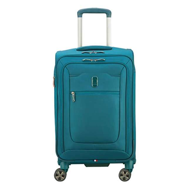 40229194732 DELSEY Paris 4 Sized Reliable Hyperglide Softside Travel Luggage Bag Set, Teal 4