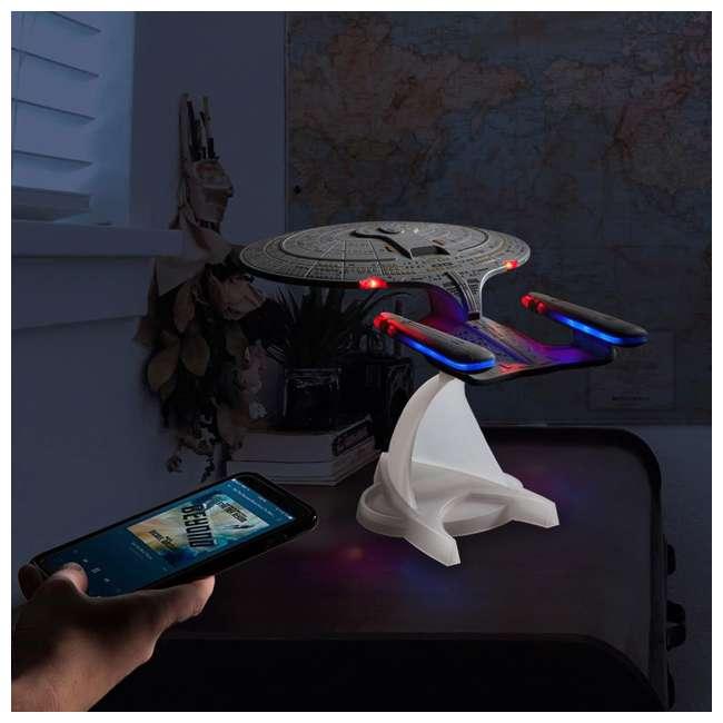 ST-ENTD Fametek Star Trek Enterprise 1701-D Bluetooth Speaker & Sleep Machine 4