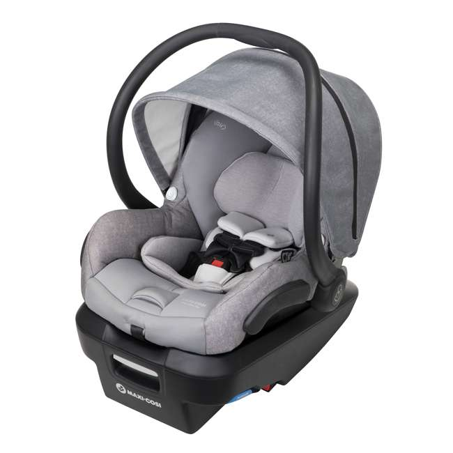 IC306ETL Maxi-Cosi Mico Max Plus Rear Facing MaxShade Canopy Infant Car Seat, Nomad Gray