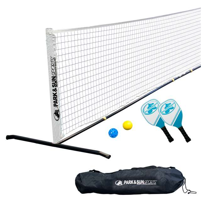 PS-PBTN-15 Park & Sun Sports 15-Foot Portable Pickleball and Tennis Set (2 Pack)