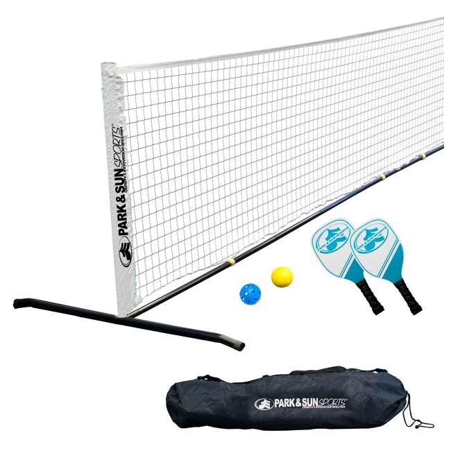 PS-PBTN-15 Park & Sun Sports 15-Foot Portable Pickleball and Tennis Set