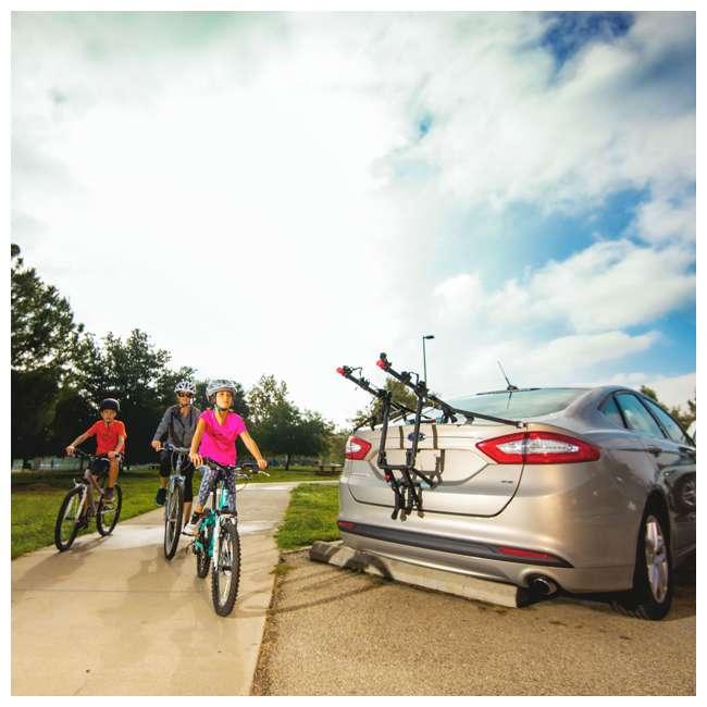 S5491 + 103DN-R Schwinn 700C Phocus 1600 Womens Drop Bar Road Bicycle & 3 Bike Car Trunk Rack 5
