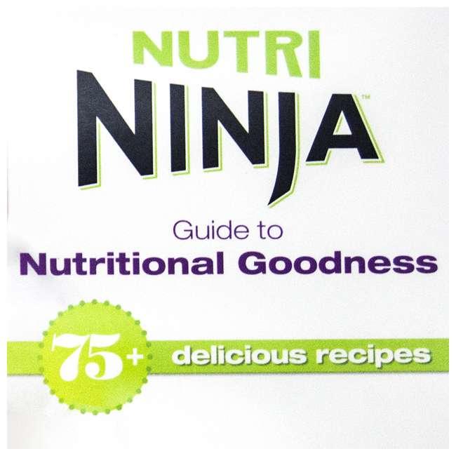BL610_EGB-RB + CB450 Ninja Professional Blender (Certified Refurbished) & Recipe Book 10