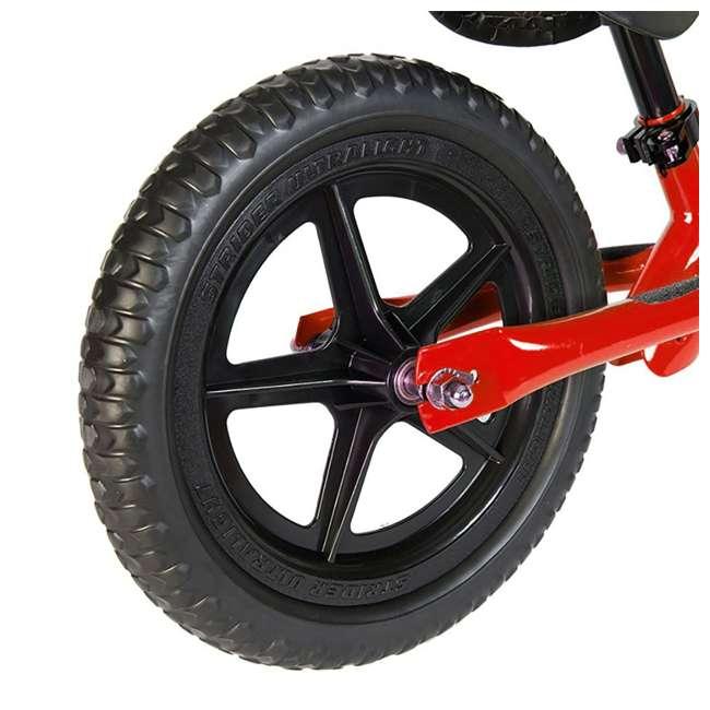 ST-S4RD + PSKISET-12-BK Strider 12 Sport Balance Kids Learning Bike, Red + Strider 12 Inch Bike Snow Ski Set  7