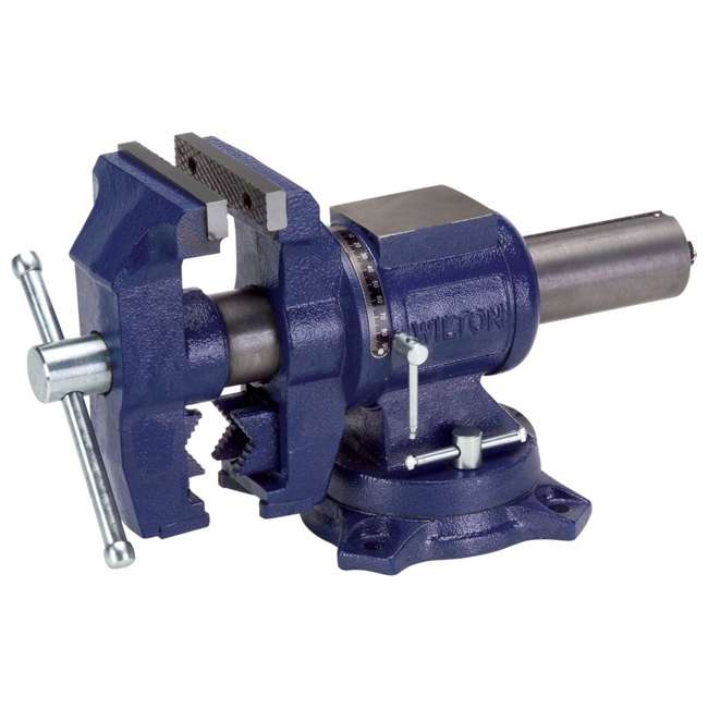 WIL-69999 Wilton 5 Inch Multi-Purpose Vise with Rotating Head