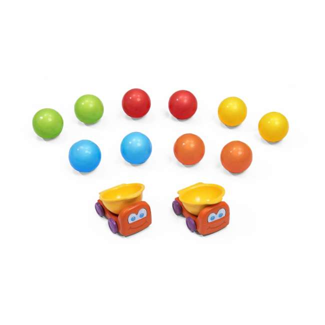 497400 Step2 497400 Durable Toddler Ball Buddies Tunnel Tower with 10 Colorful Balls 1