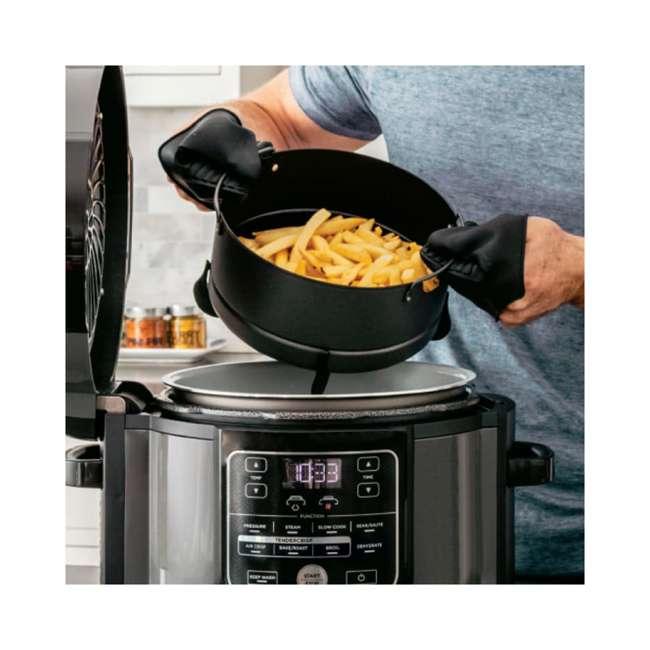 OP302HB_EGB-RB Ninja Foodi 6.5qt Pressure Cooker that Crisps Air Fryer (Certified Refurbished) 2