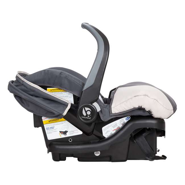 CS79C81A Baby Trend Ally Adjustable 35 Pound Infant Baby Car Seat and Car Base, Magnolia 2