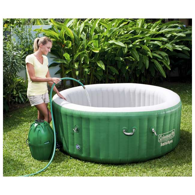 90363E-BW-U-A Coleman SaluSpa Lay-Z-Massage 77x28 Inch 6-Person Hot Tub (Open Box) (2 Pack) 2