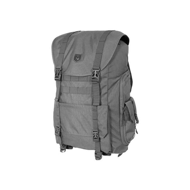 CPG-BP-SARCBND-DG Cannae Pro Gear Sarcina Expedition Multi-Purpose Backpack with 5 Utility Pouches 1