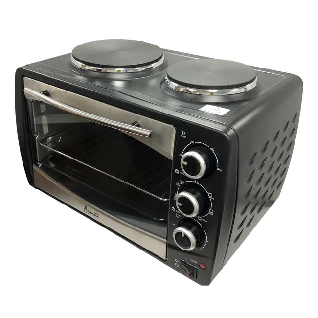 POBW111B-IS Avanti Multi-Function Dual Burner Convection Bake Broil Oven  1