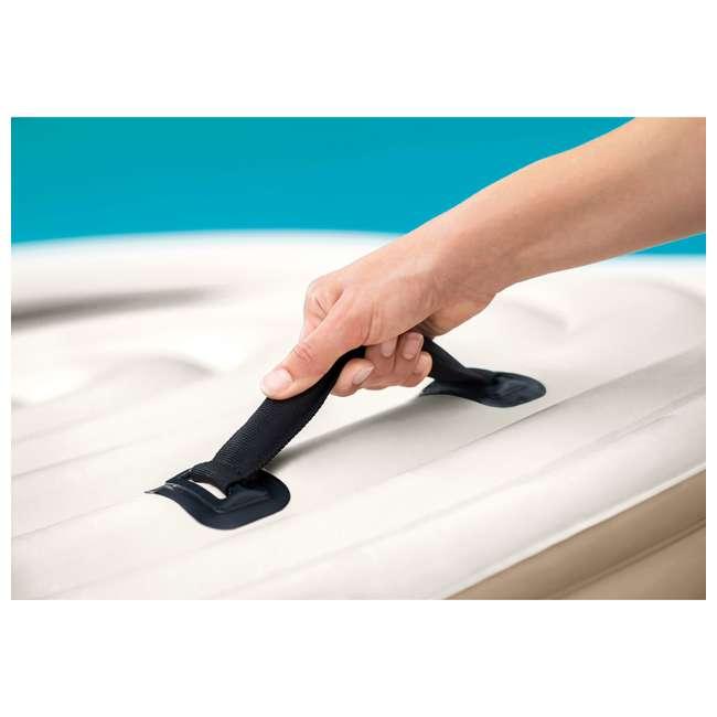 28523E + 2 x 28505E + 2 x 28502E Intex PureSpa Hot Tub Cover w/ Foam Headrest (2 Pack) & Removable Seat (2 Pack) 5