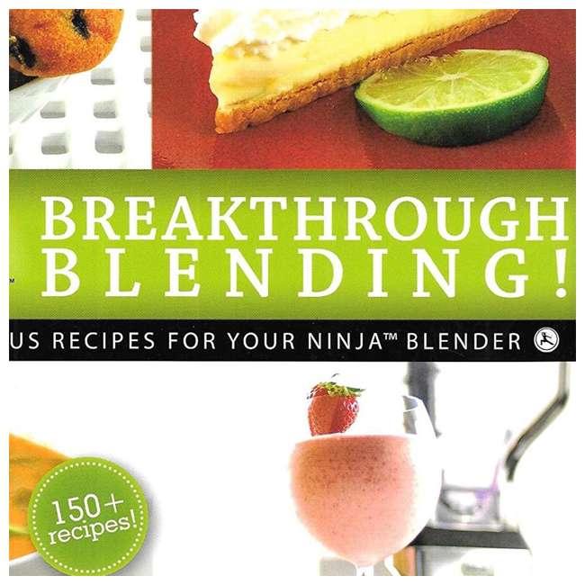 XPB600W Ninja Breakthrough Blending! 150 Recipe Blender Cookbook (2 Pack) 3