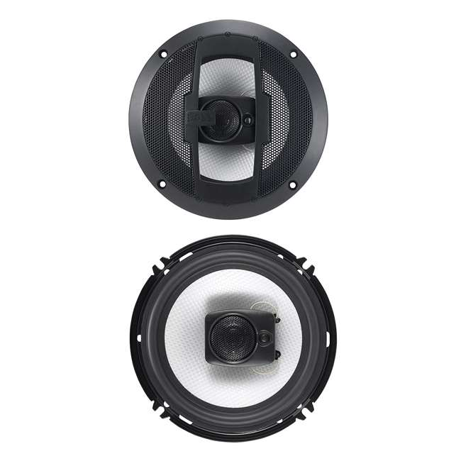 R63 Boss 6.5-Inch 300W 3 Way Coaxial Speakers (Pair) 1