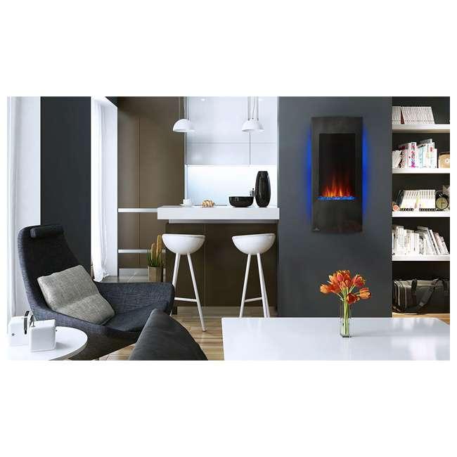 NEFV38H-OB Napoleon Azure Vertical 38 Inch Electric Fireplace w/ Remote(Open Box) 4