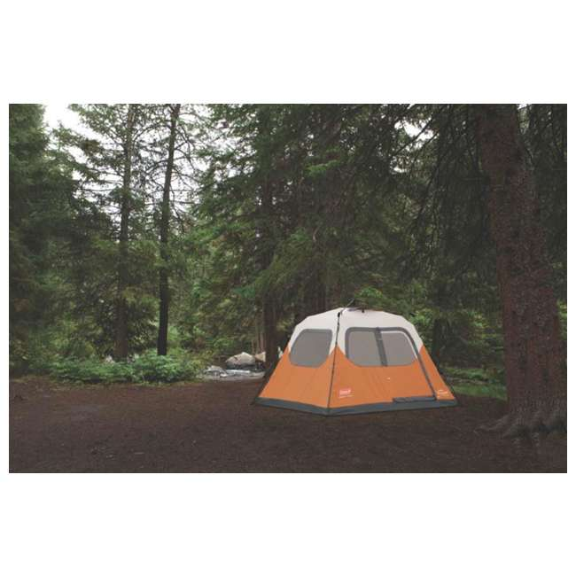 2000017933 + 2A-CM004W Coleman Outdoor 6 Person Camping Tent and Uriah Products 85 Prime Cooler 5